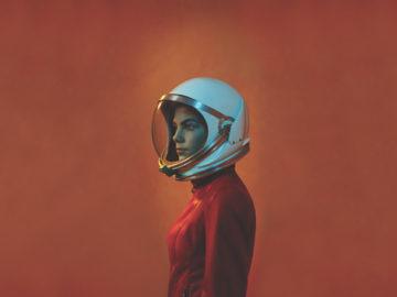 Cuando crezca, voy a viajar a Marte