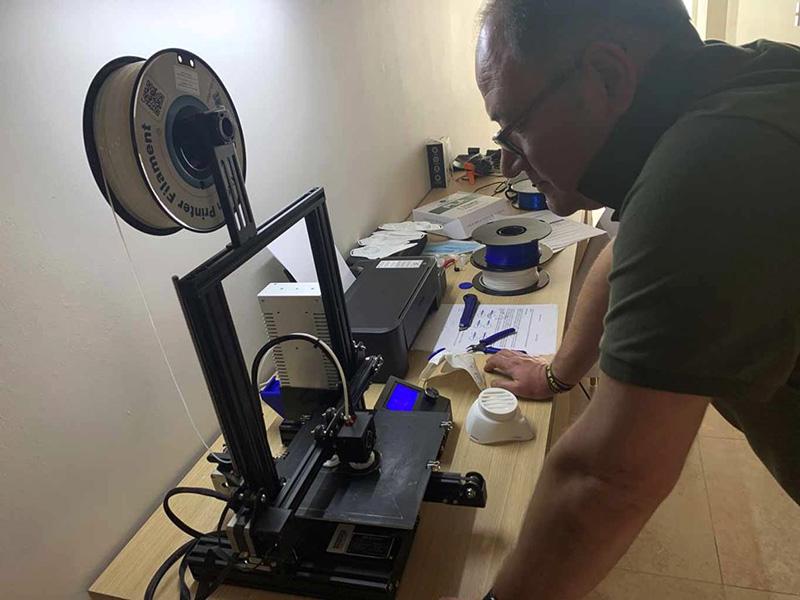 Impresora en 3D utilizada en Zacatecas