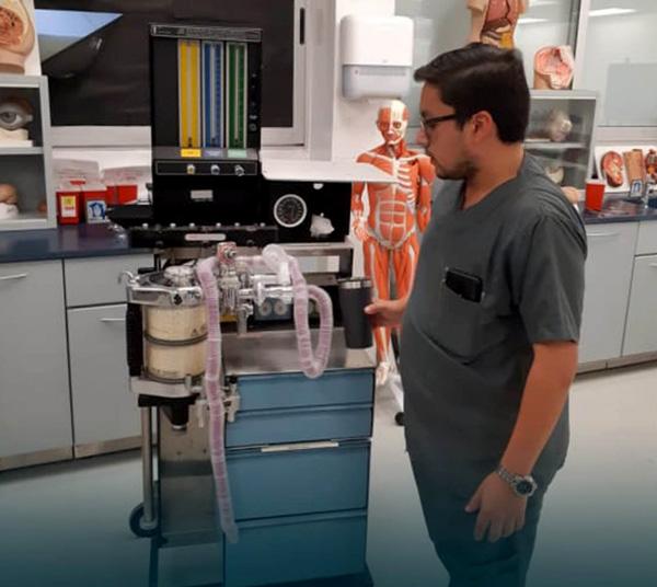 En el Tec trabajan en un ventilador pulmonar de bajo costo