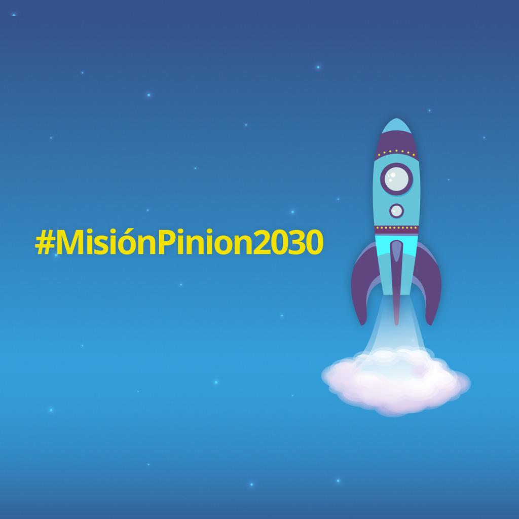 La #MisiónPinion2030 despega con tu escuela hacia el futuro